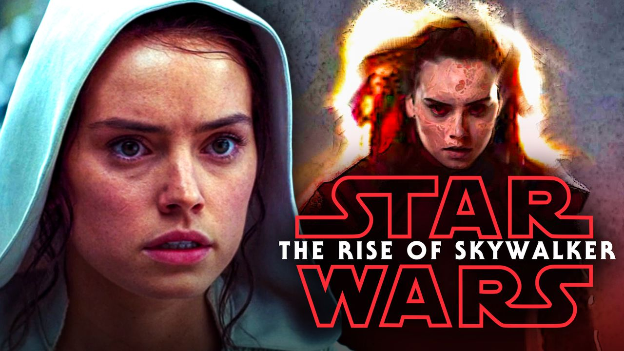 Rey Rise of Skywalker Concept Art