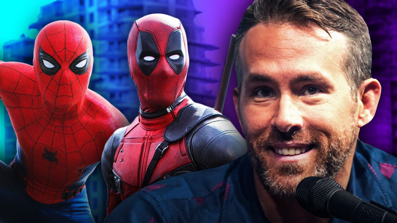 Spider-Man, Deadpool Ryan Reynolds