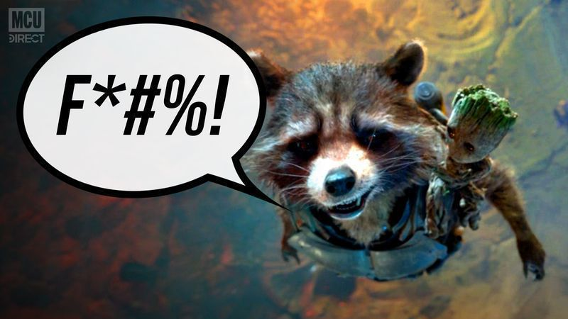 Rocket Racoon Almost Uses Marvel's First F-Bomb