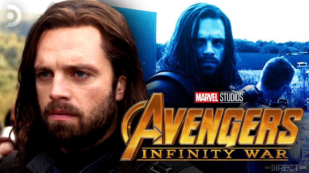Sebastian Stan, Bucky Barnes, Avengers: Infinity War logo