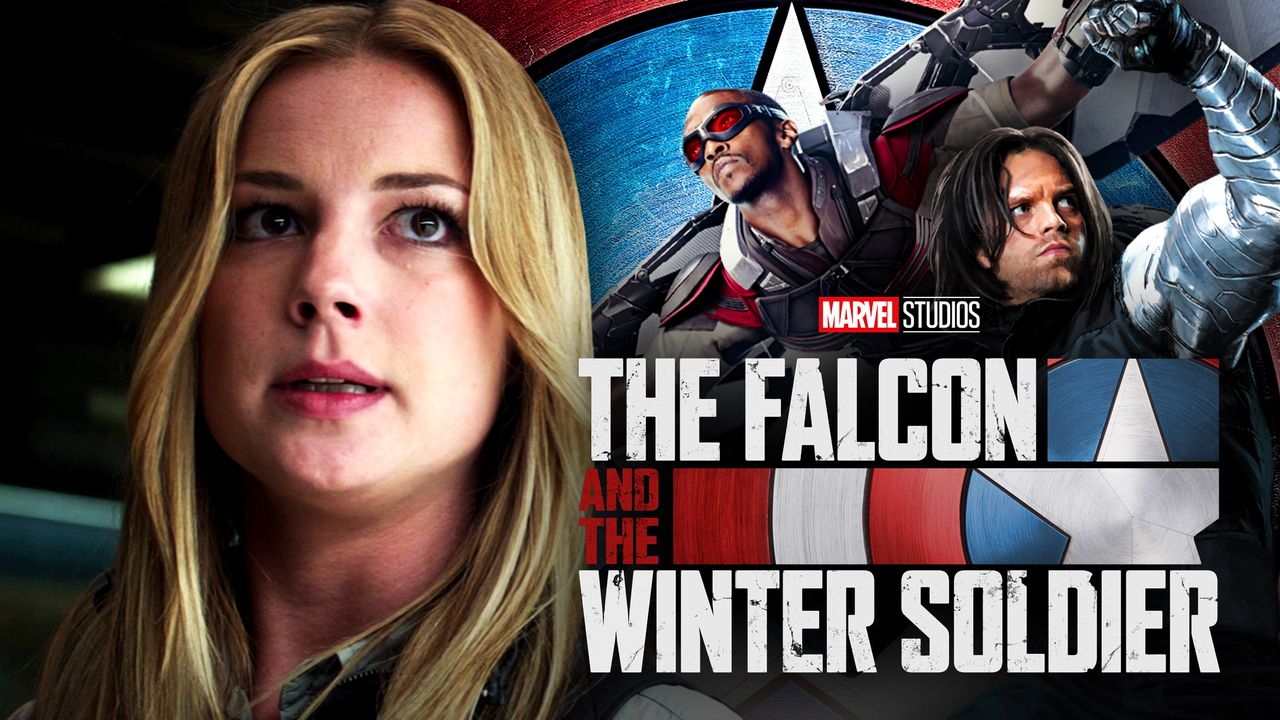 Sharon Carter, The Falcon and the Winter Soldier Co-Stars and Logo