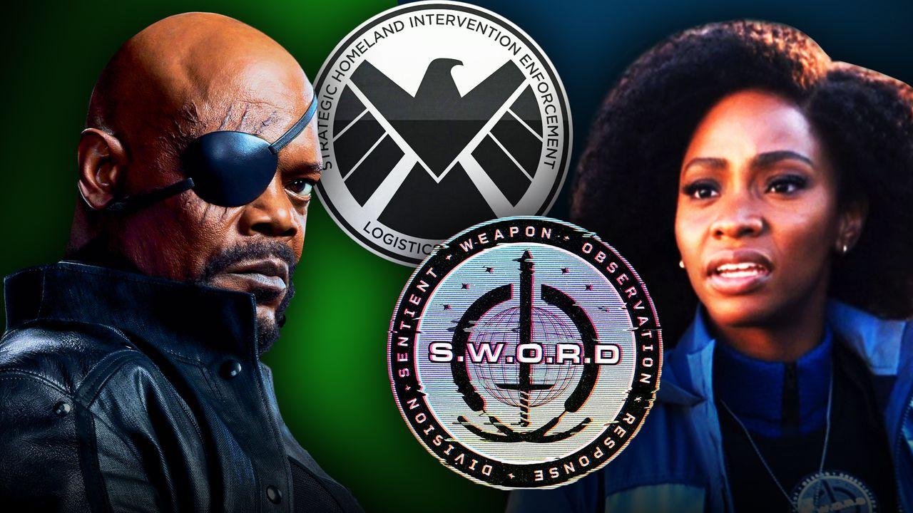 Nick Fury, SHIELD, SWORD, Monica Rambeau
