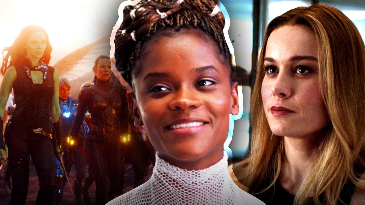 A-Force Avengers Endgame, Shuri, Captain Marvel