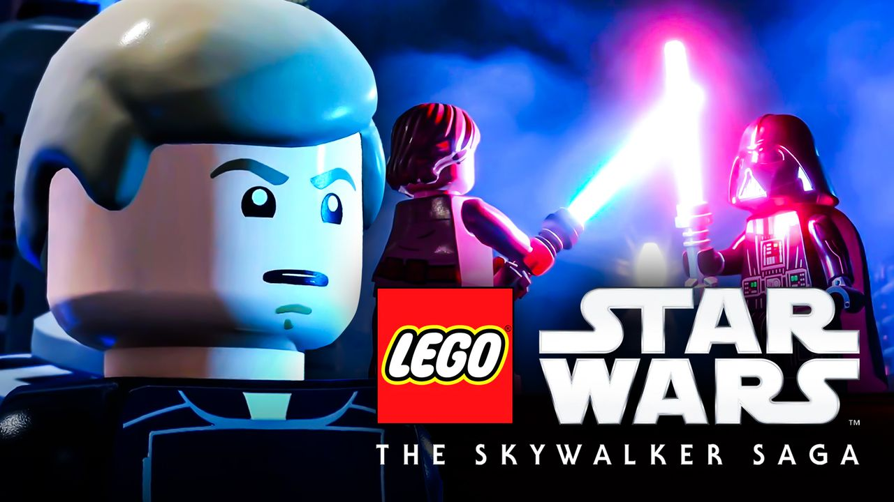 Luke Skywalker in LEGO Star Wars: The Skywalker Saga
