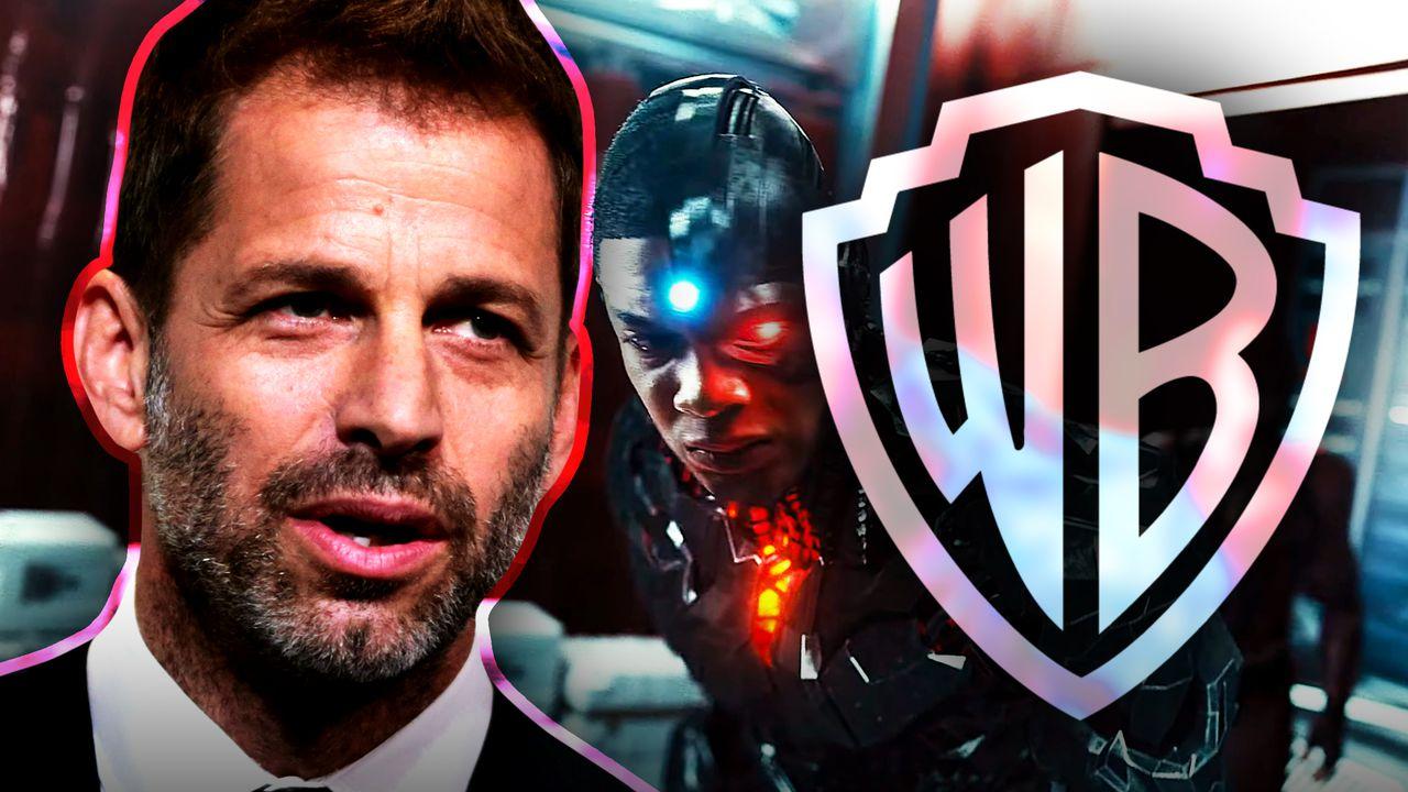 Zack Snyder, Warner Bros logo