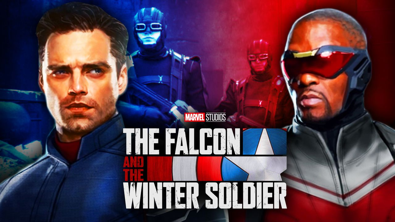 Falcon, Bucky, The Falcon and the Winter Soldier logo