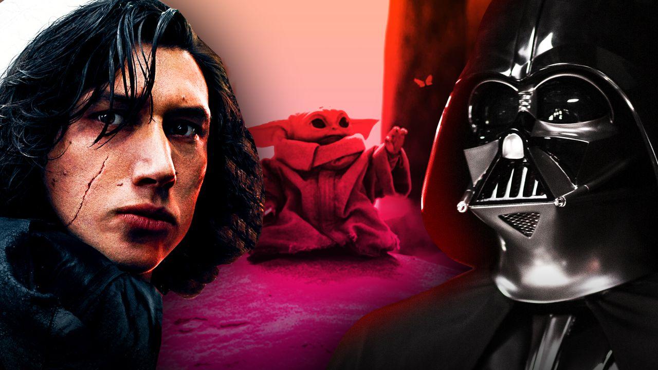 Kylo Ren, Grogu, Darth Vader