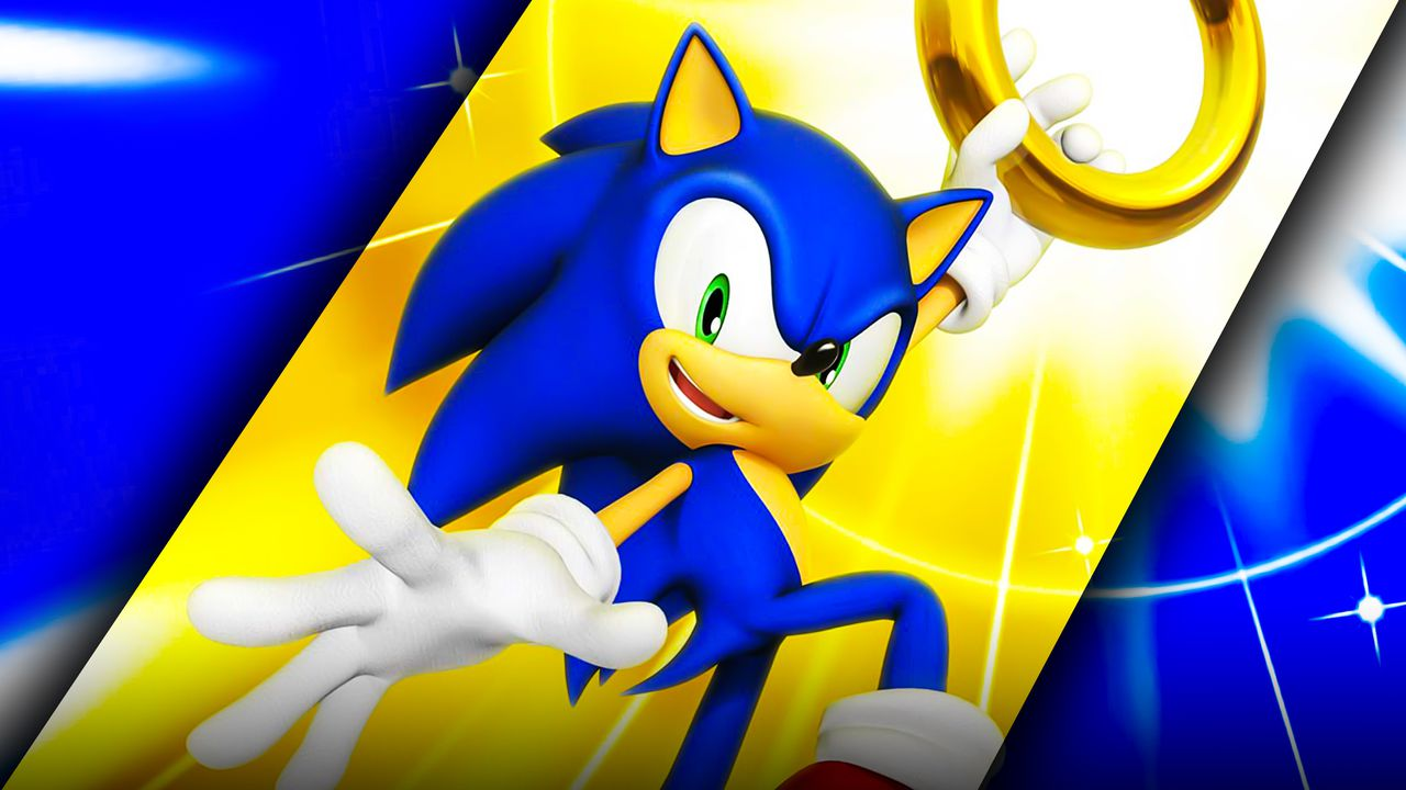 Sonic the Hedgehog With Coin