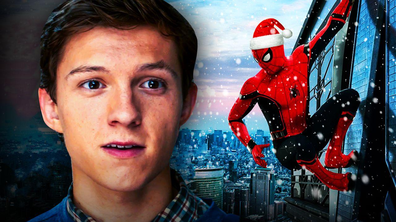 Tom Holland's Spider-Man 3: New Set Photos Reveal Christmas Setting