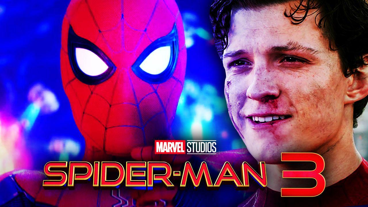 Tom Holland's Spider-Man, Peter Parker, Spider-Man 3 logo