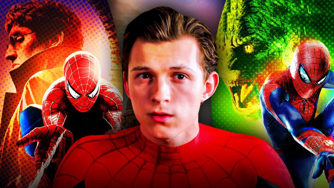 Tom Holland Spider-Man Spider-Men