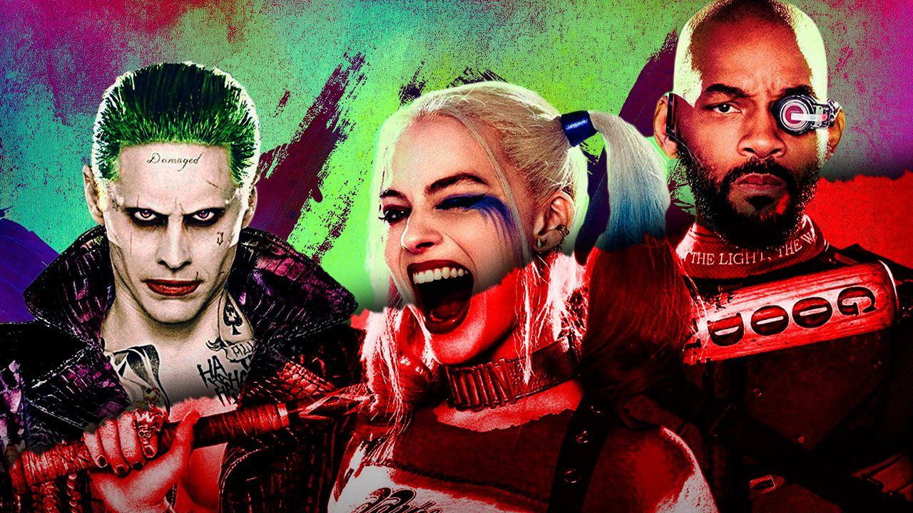 Joker, Harley Quinn, Deadshot