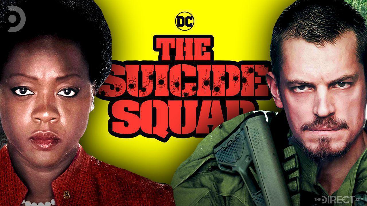 Viola Davis, Suicide Squad Logo, Joel Kinnaman