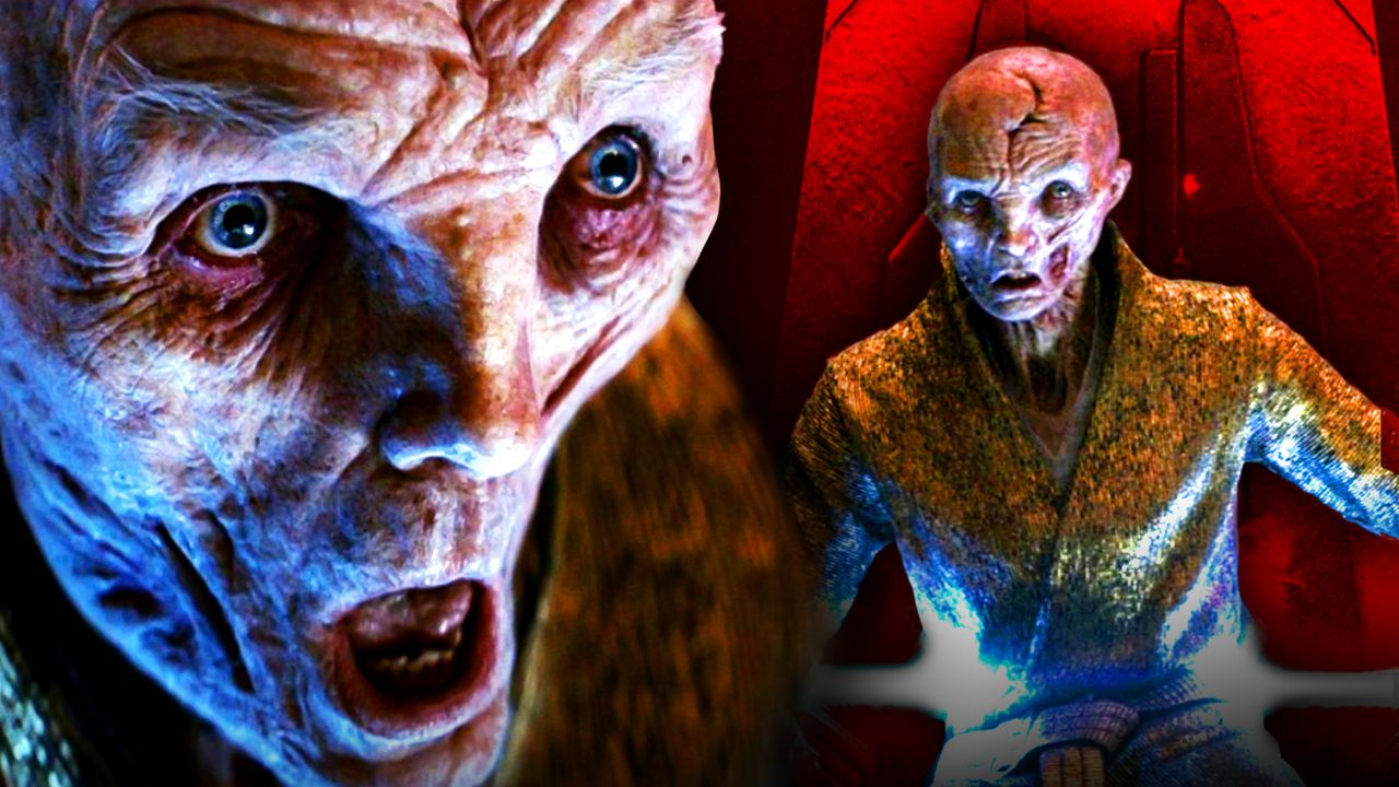 Star Wars: Snoke Actor Admits Being 'Devastated' About Surprise Character Death