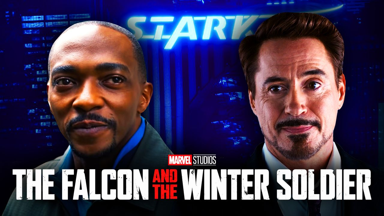 Sam Wilson Tony Stark The Falcon and the Winter Soldier