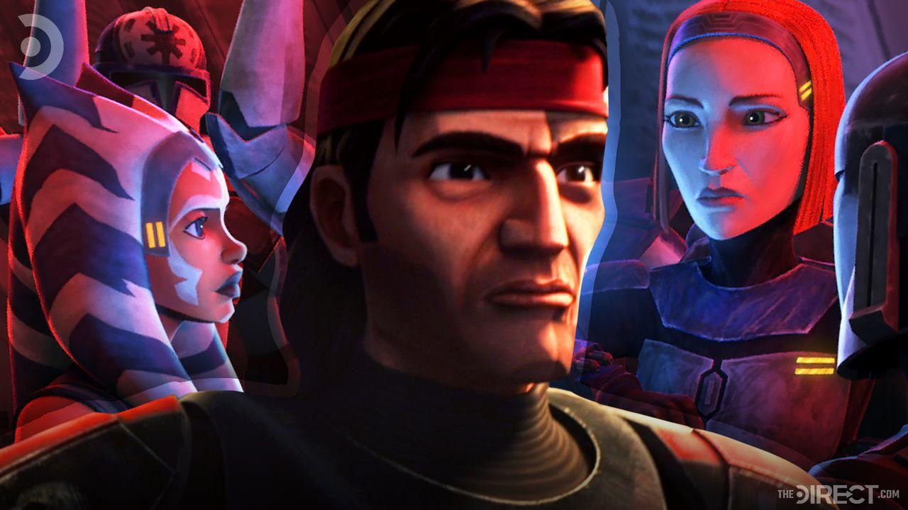 Ahsoka, Hunter, The Clone Wars