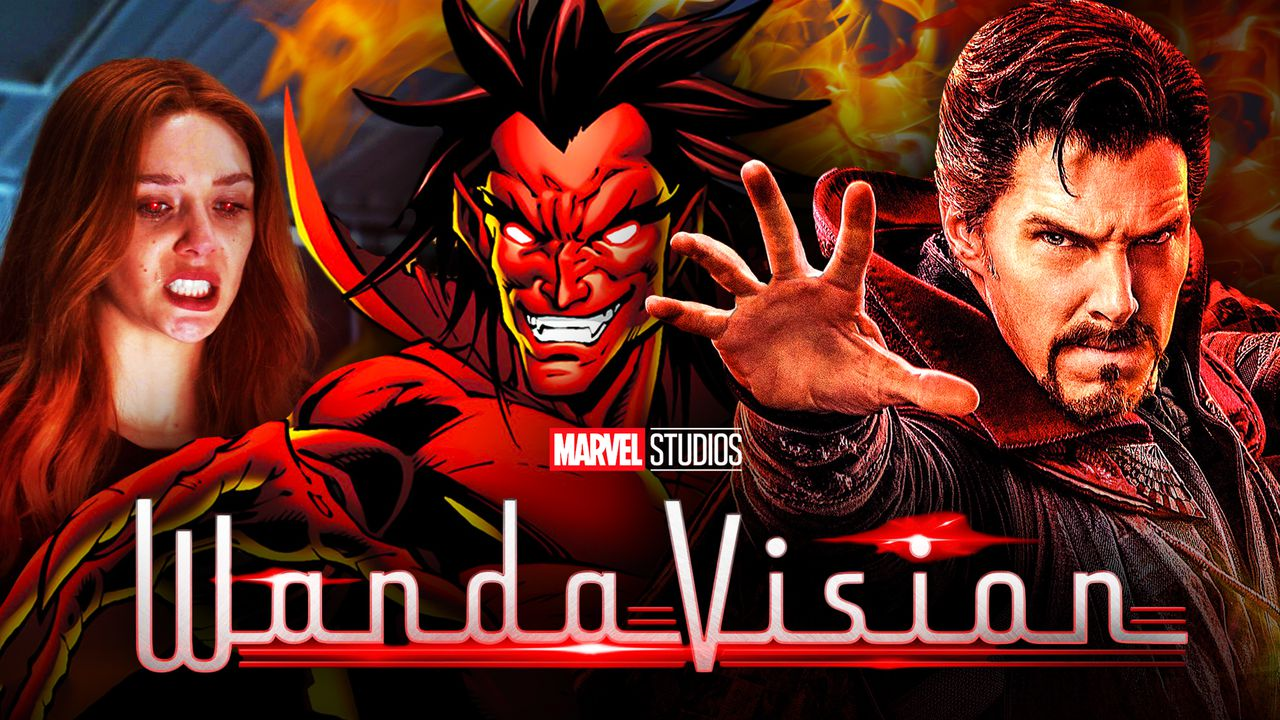 Wanda Maximoff, Mephisto, Doctor Strange