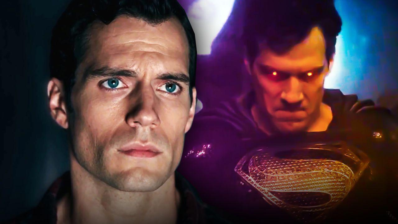 Superman Black Suit Henry Cavill