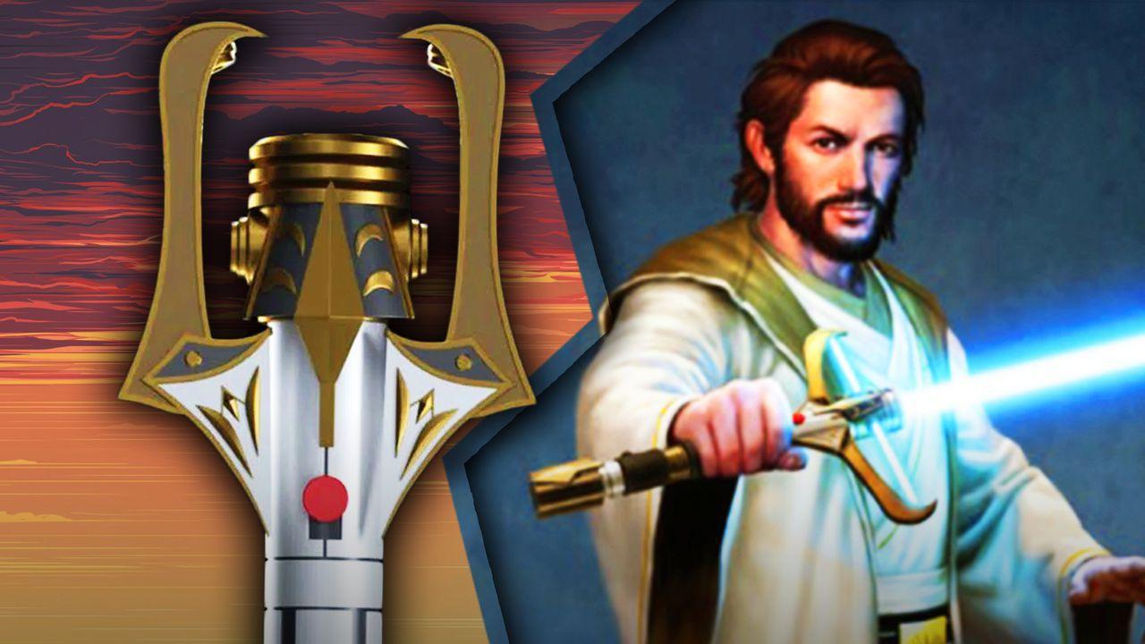 Star Wars The High Republic, Stellan Gios, Lightsaber
