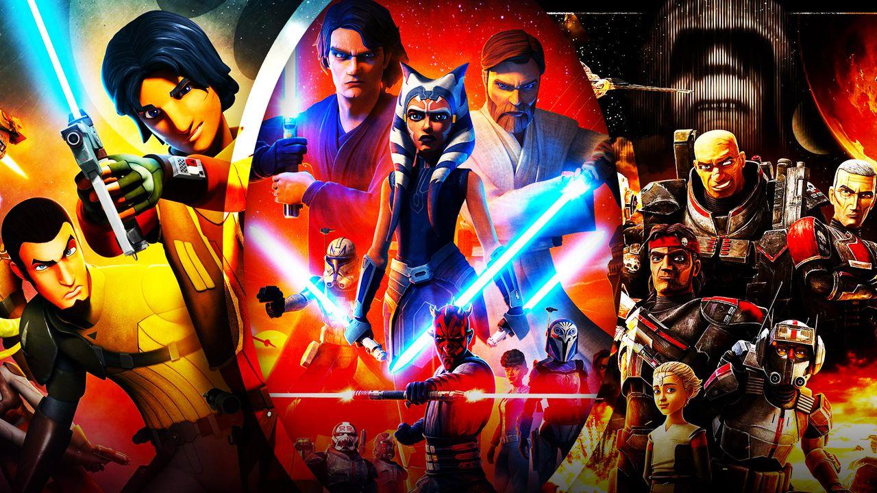 Star Wars Clone Wars Rebels Bad batch