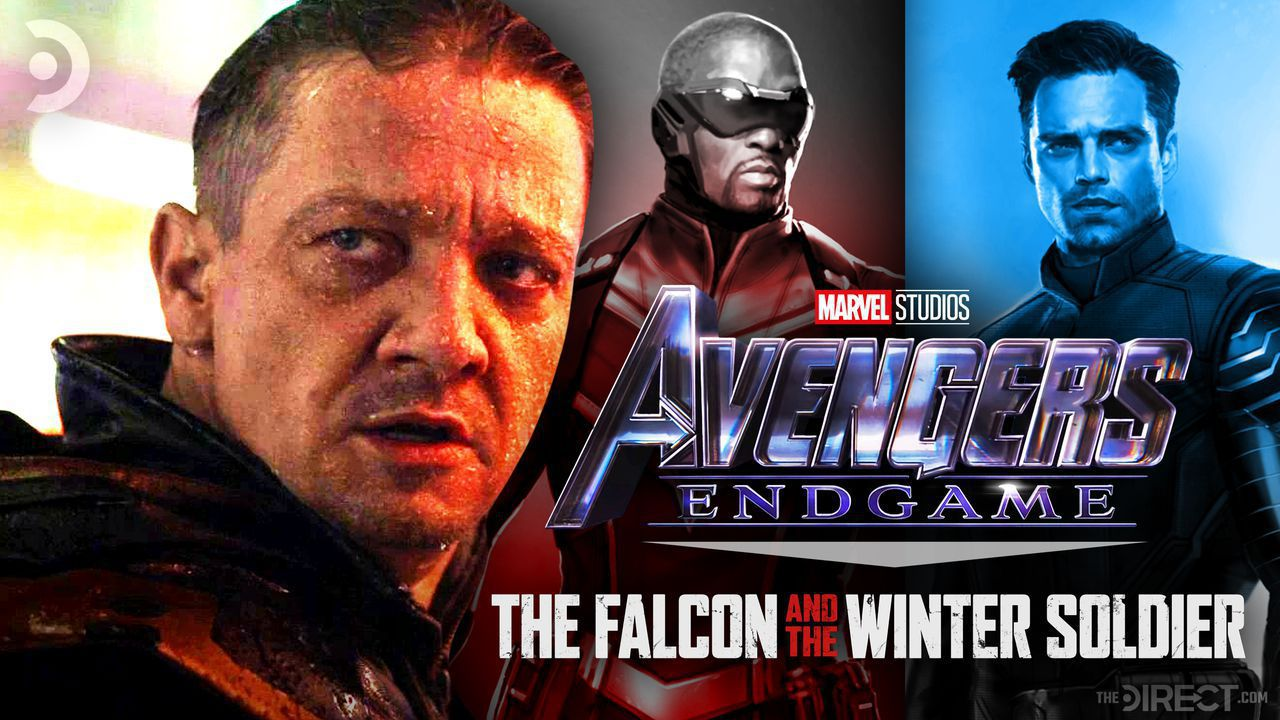 Hawkeye, Falcon, Winter Soldier, and Avengers: Endgame & The Falcon and the Winter Soldier logo