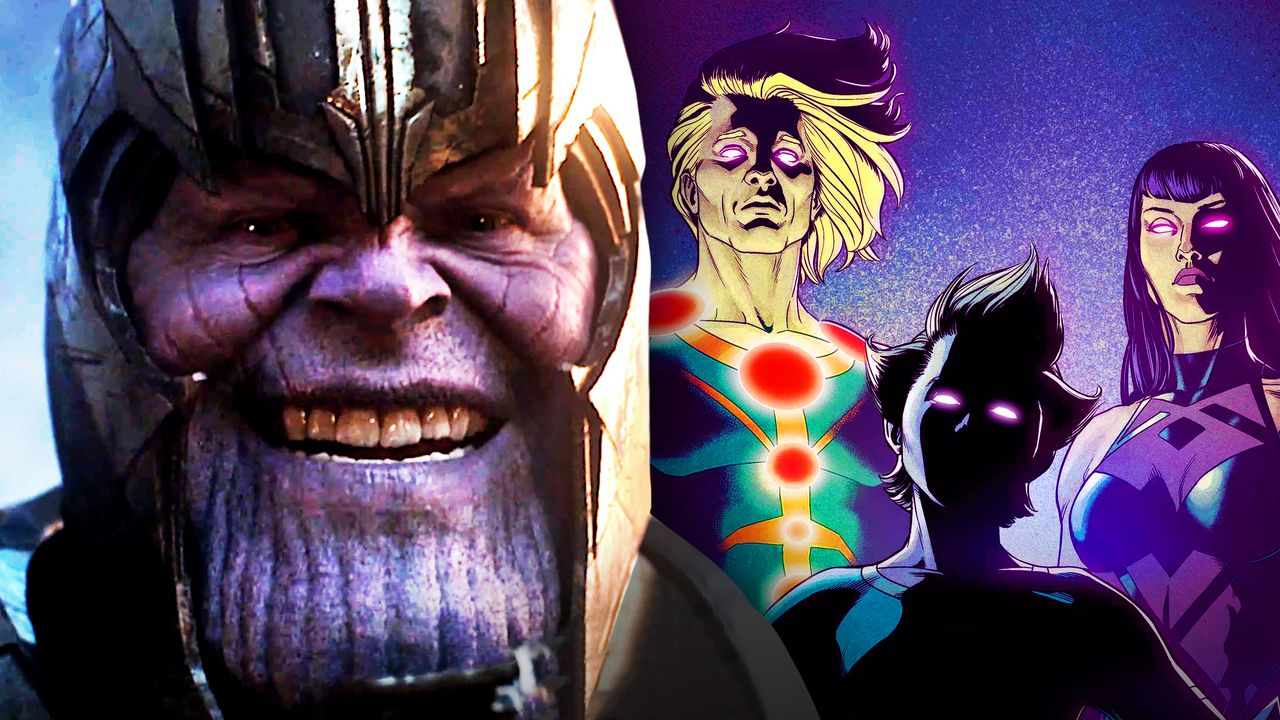 Marvel Confirms Mcu Thanos Special Connection To The Eternals