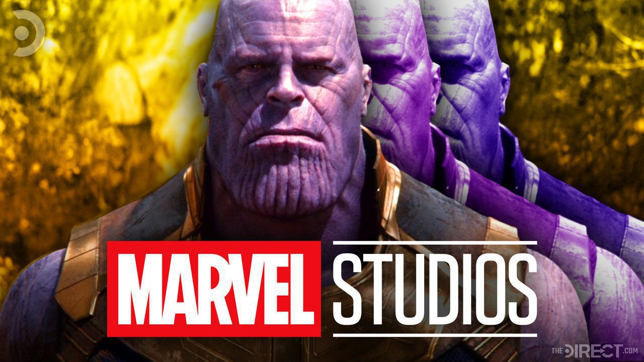 Thanos, Marvel Studios logo
