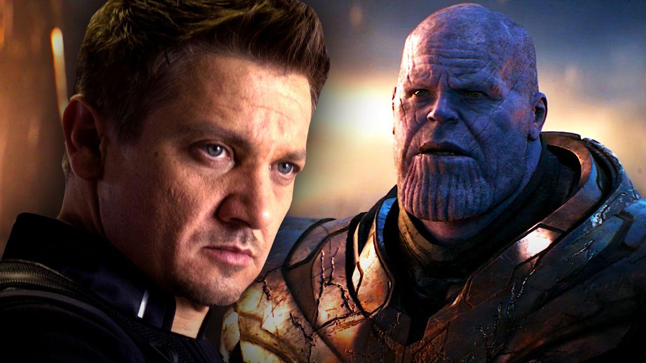 Hawkeye, Thanos