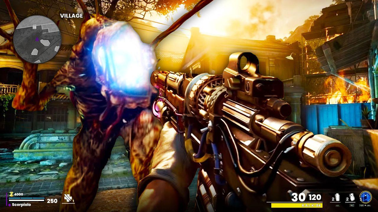 Call of Duty Zombies Firebase Z Trailer