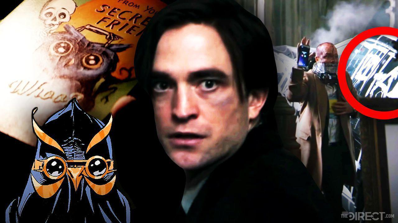 Robert Pattinson as The Batman, The Batman trailer scenes