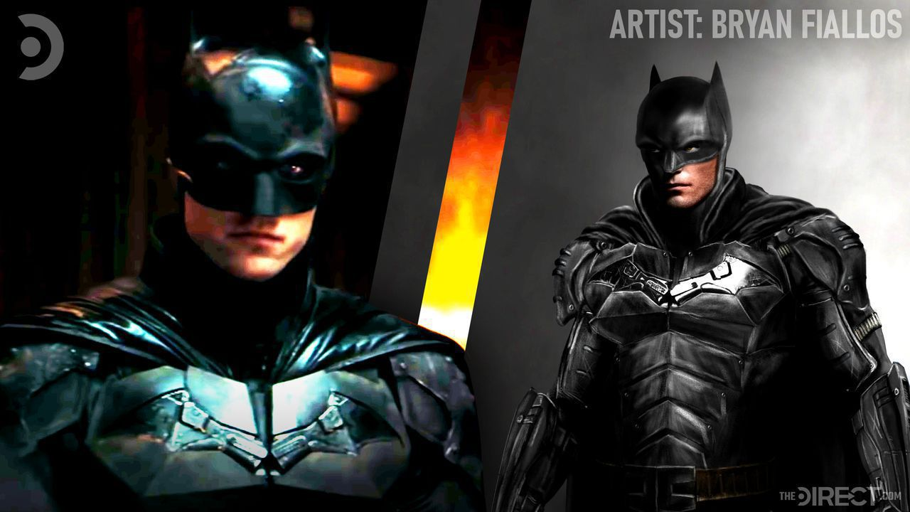 Robert Pattinson's The Batman, Bryan Fiallos Batman art