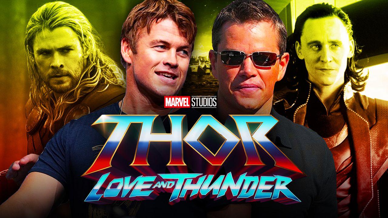 Matt Damon Luke Hemsworth Thor 4