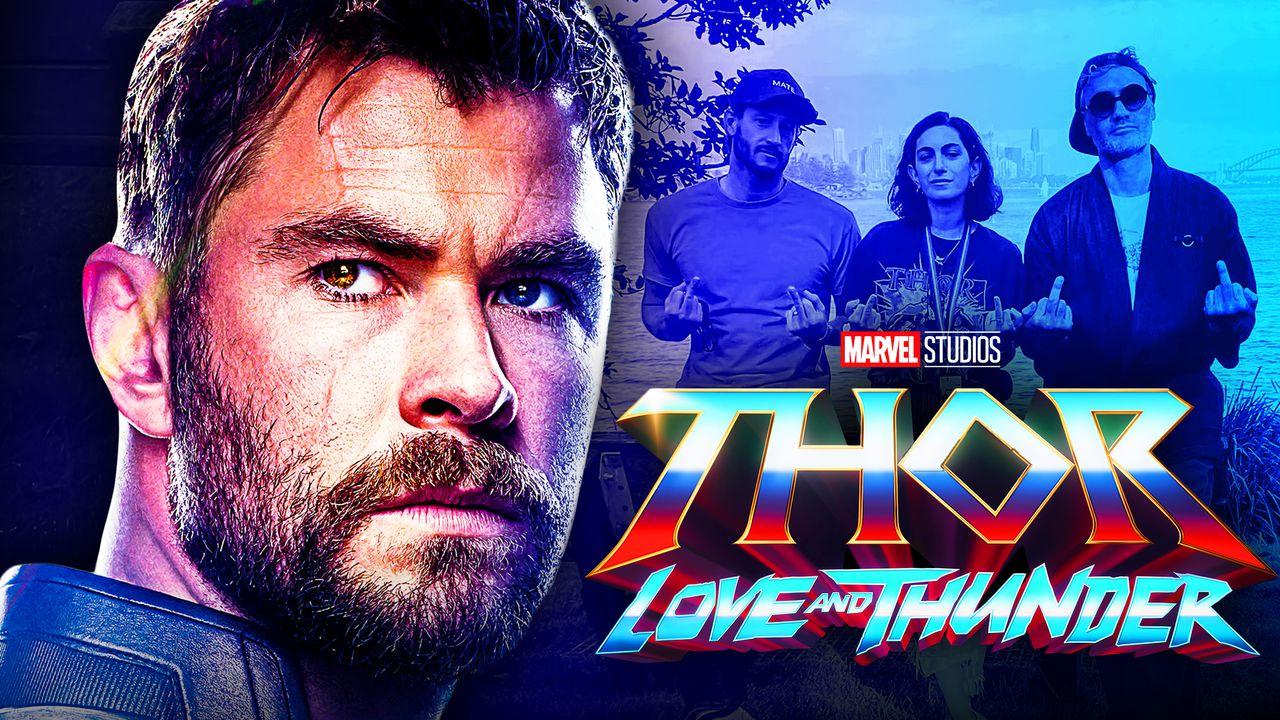 Chris Hemsworth's Thor, Thor Love and Thunder