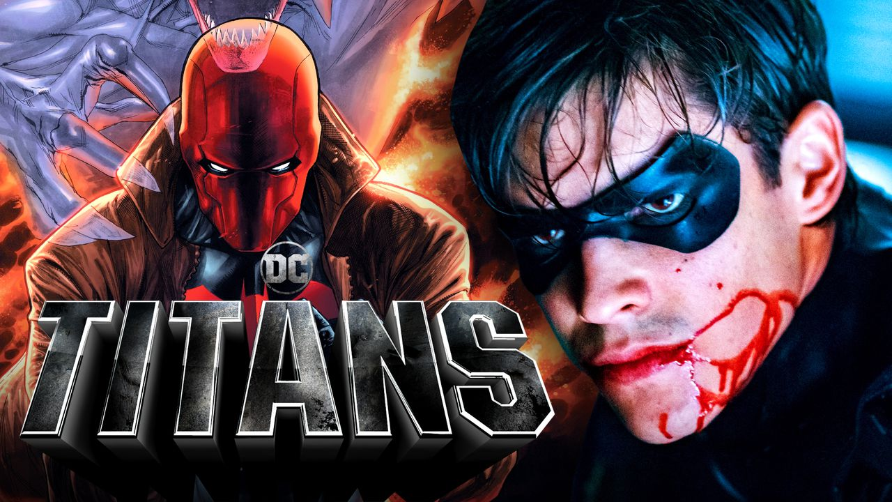 Red Hood and Robin from DC's Titans