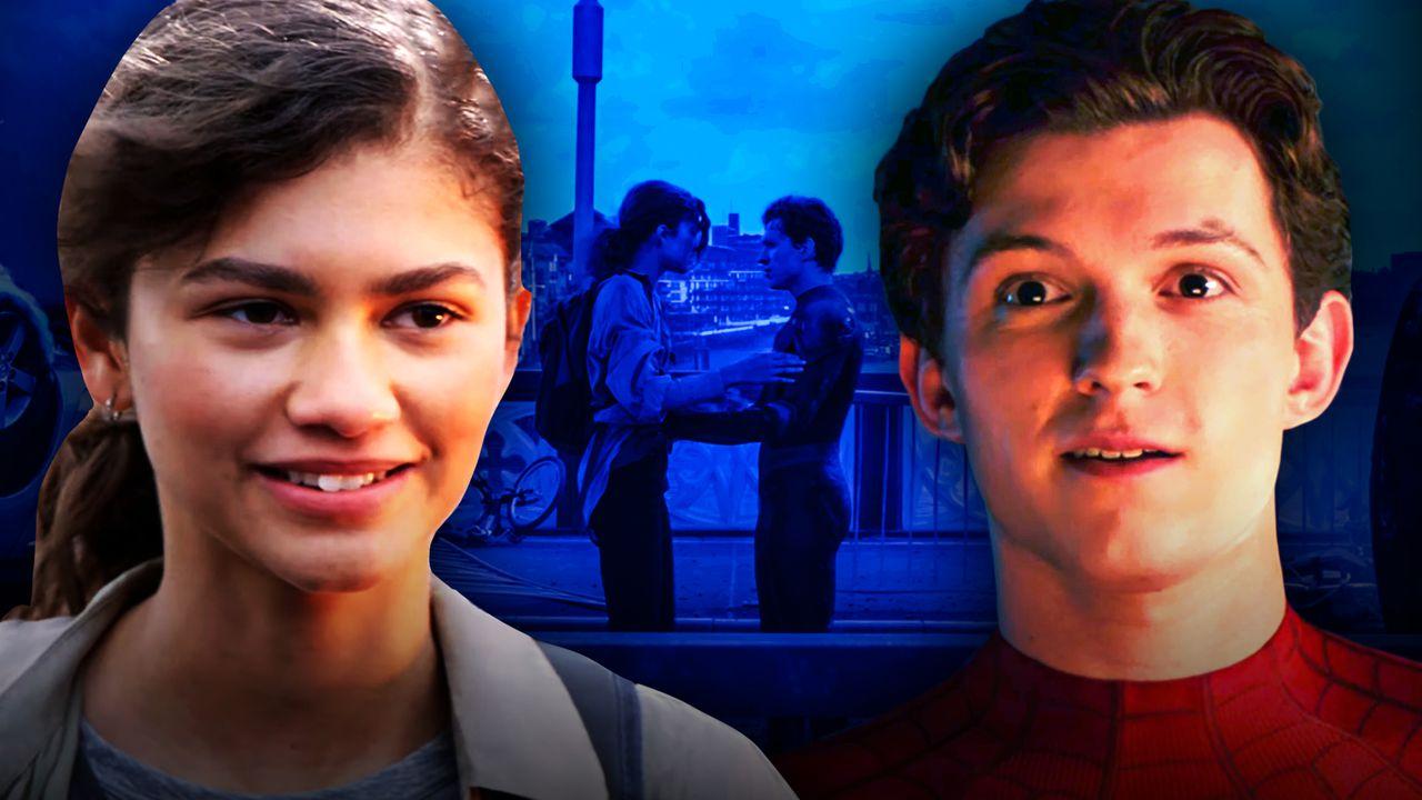 Zendaya, Tom Holland, Spider-Man