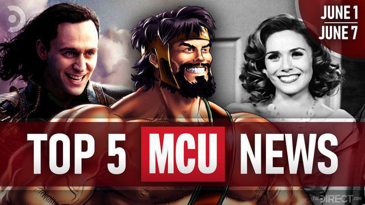 Loki, Hercules, and Wanda Maximoff
