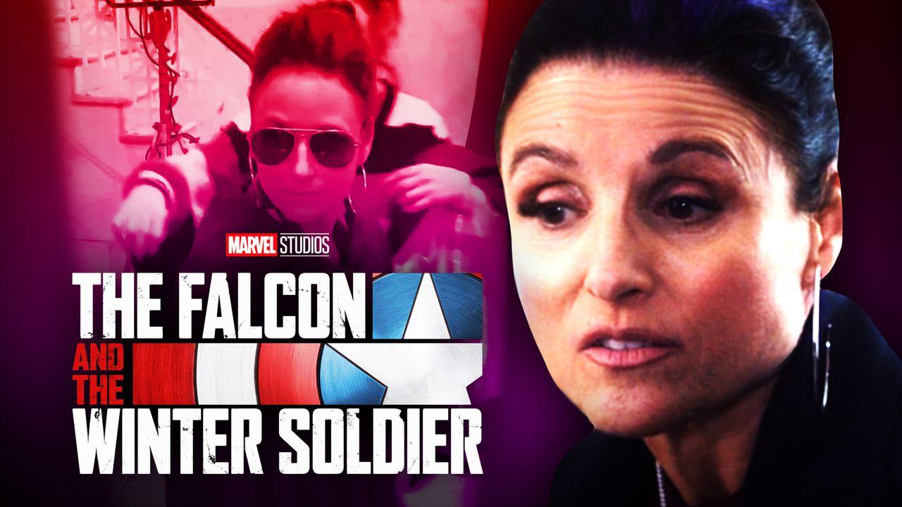Julia Louis Dreyfus Falcon and Winter Soldier