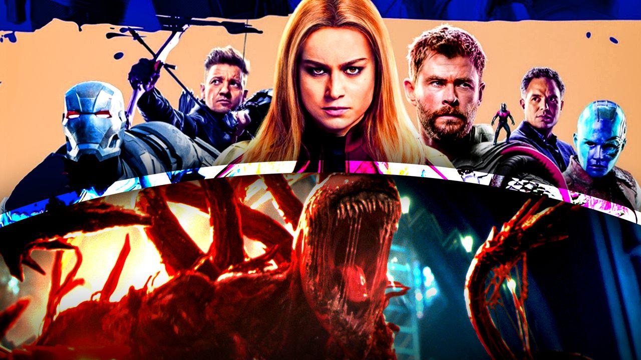 Avengers Captain Marvel Venom Carnage