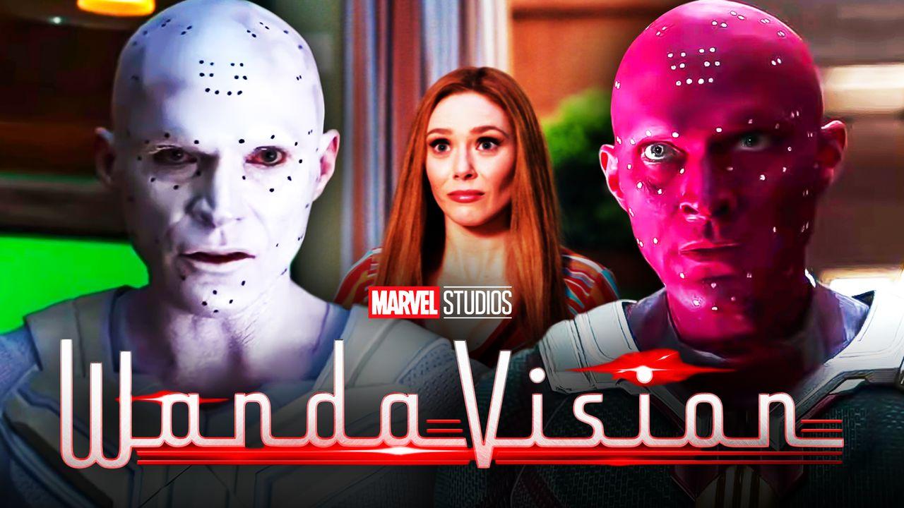 WandaVision White Vision Paul Bettany No Visual Effects