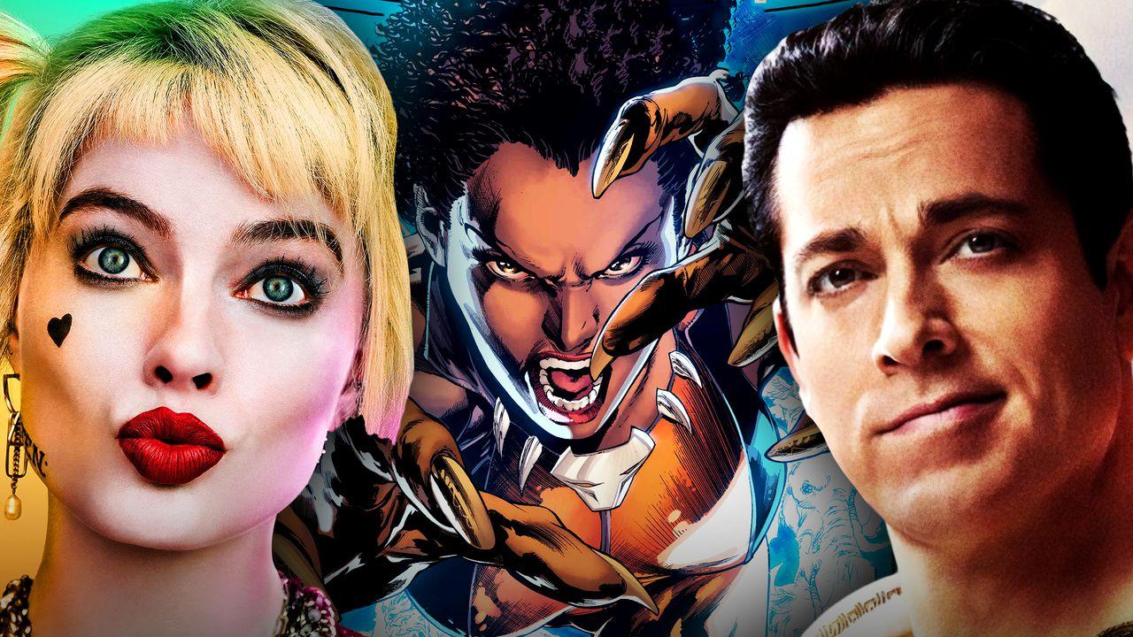 Harley Quinn, Vixen, Shazam