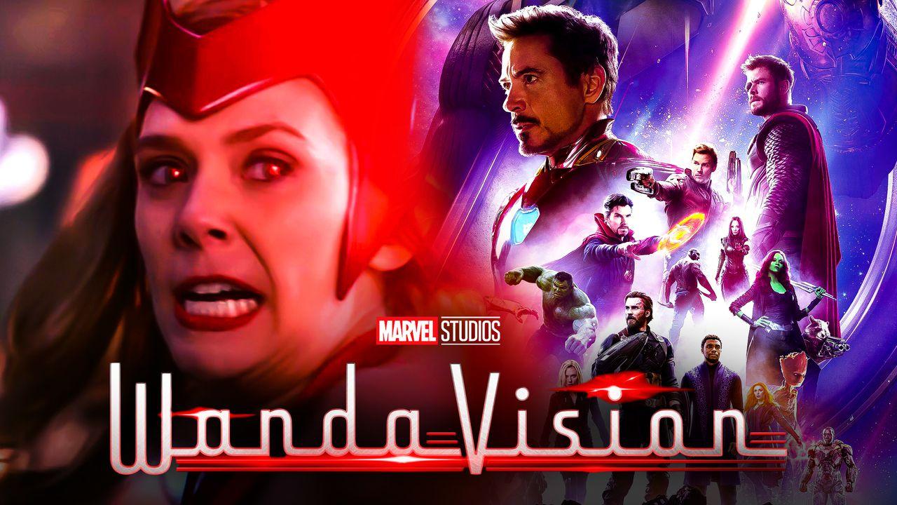 WandaVision Avengers: Endgame Poster