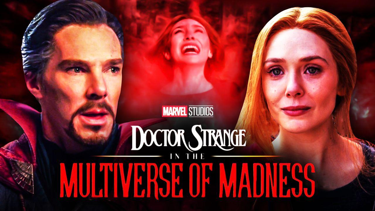 Doctor Strange 2: Elizabeth Olsen Still In 'Trauma Mode' For Scarlet Witch Performances