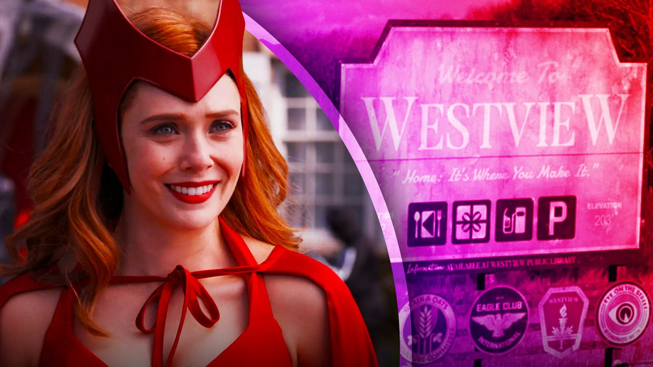 Wanda with Westview Sign