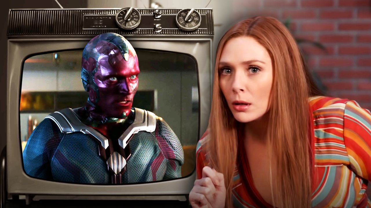 Vision on TV, Wanda Maximoff