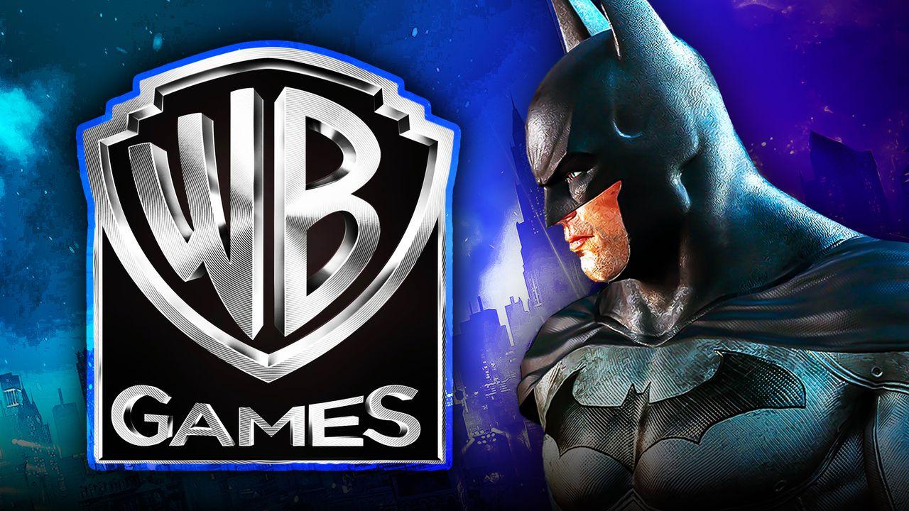 WB Games Logo, Batman