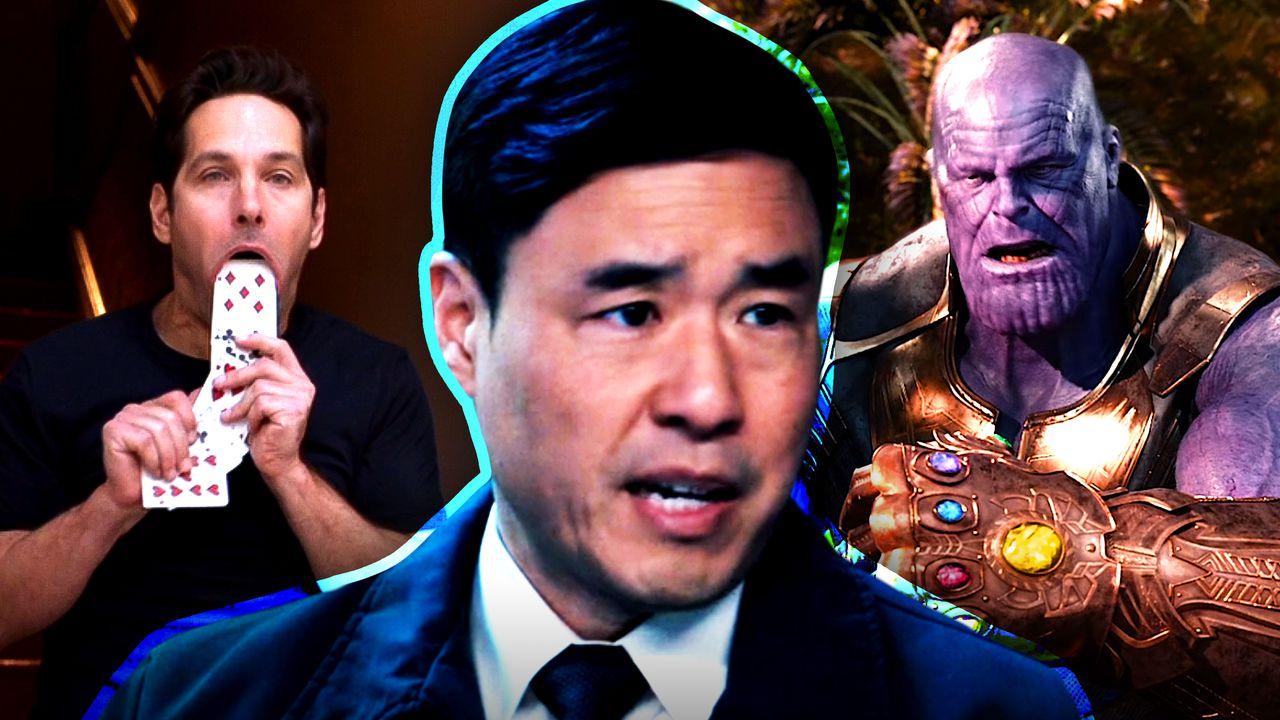 Jimmy Woo, Scott Lang Car Trick Thanos