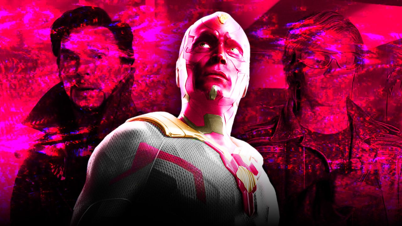 Doctor Strange, Vision, Quicksilver