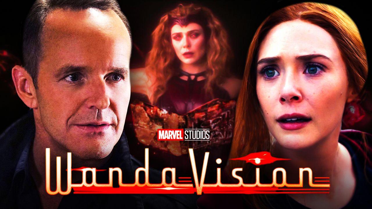 Phil Coulson Wanda Maximoff WandaVision