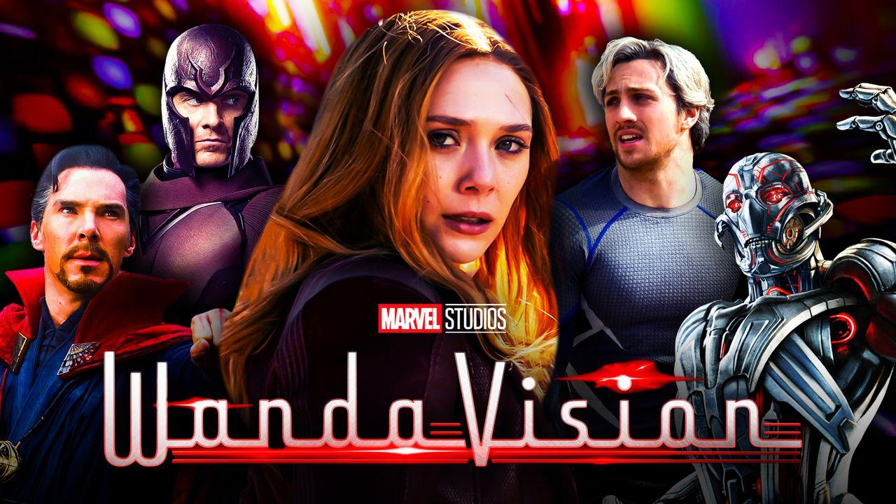 Doctor Strange, Magneto, Wanda Maximoff, Quicksilver, Ultron