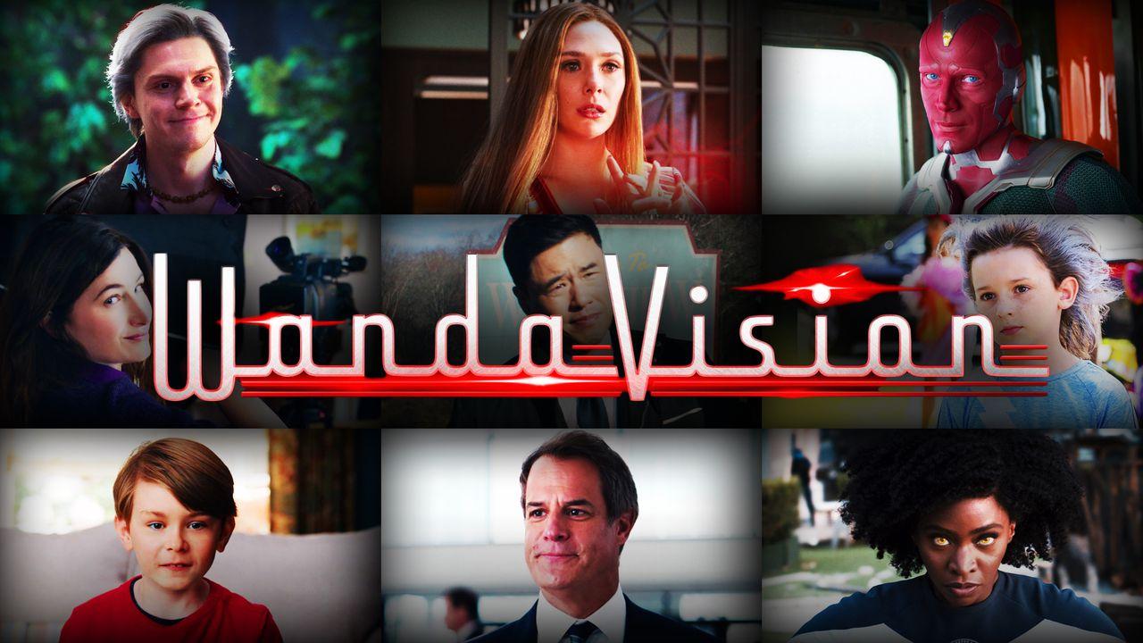 WandaVision main characters